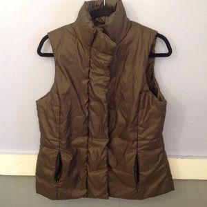 ❤️$5 section merona puffer vest brown